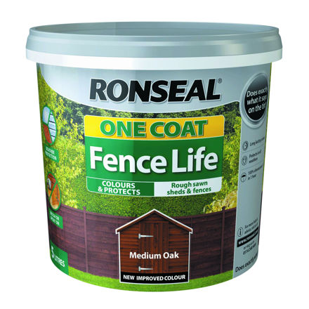 Picture of FENCELIFE - MEDIUM OAK 5L ONE COAT