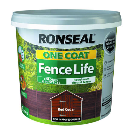 Picture of FENCELIFE - RED CEDAR 5L ONE COAT