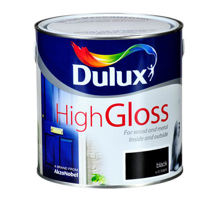 Picture of DULUX DHG-Gloss Black 750ML
