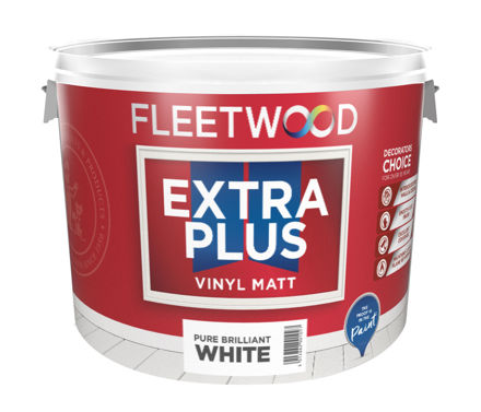 Picture of FLEETWOOD E.P. MATT - BR/WHITE 10L (F/W)
