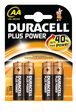 Picture of BATTERY - AA D/CELL 4pk (SIMPLY)