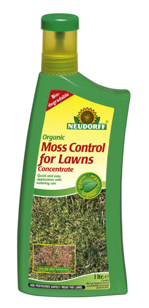 Picture of NEUDORFF ORGANIC MOSS CONTROL FOR LAWNS CONC.