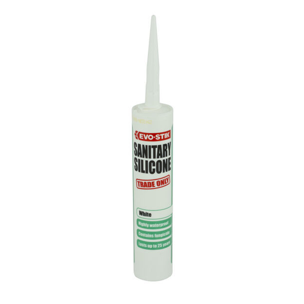 Picture of SANITARY SILICONE - WHITE