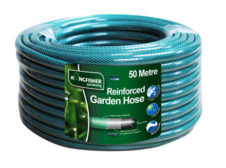 Picture of GARDEN HOSE 50MTR (GRN K/FISHER)