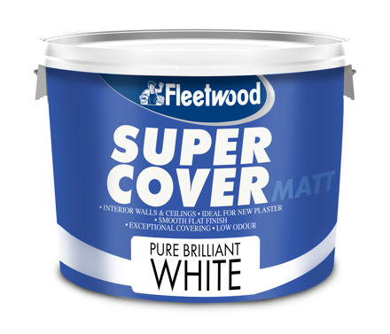 Picture of FLEETWOOD SUPERCOVER 10LTR MATT WHITE