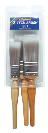 Picture of FLEETWOOD BRUSH SET 3PC - TECH