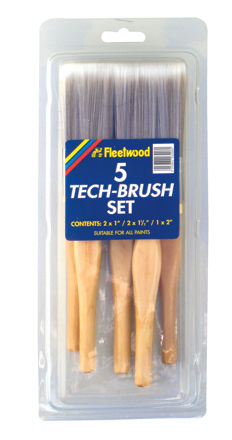 Picture of FLEETWOOD BRUSH SET 5PC - TECH