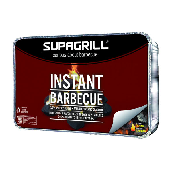Picture of BBQ INSTANT SUPAGRILL TRAY PARTY