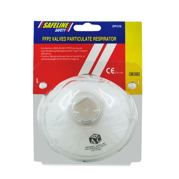 Picture of DUST MASK VALVED 2PK