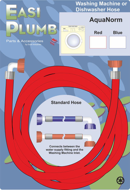 Picture of HOSE - RED W/MACHINE 1.5M