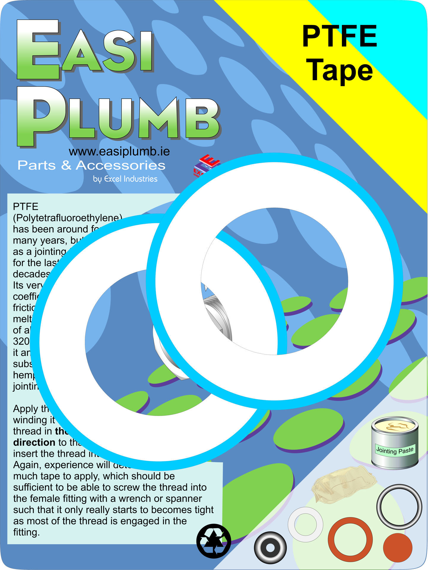 Picture of PTFE TAPE - EASI PLUMB