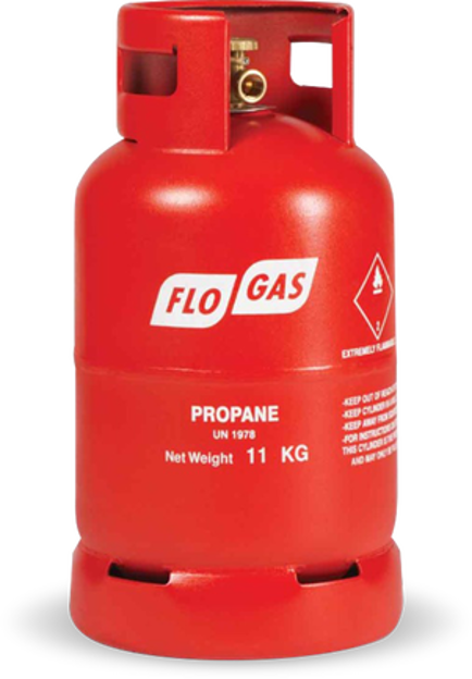 Picture of GAS - PROPANE 11KG - RED