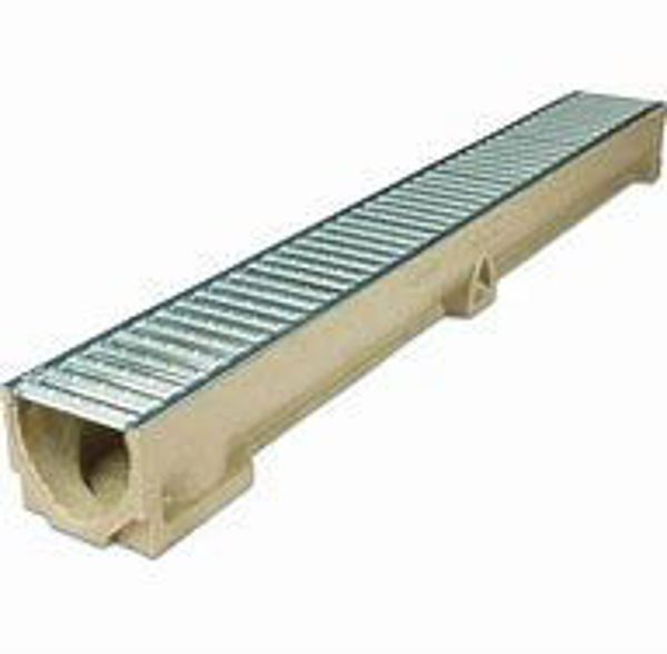 Picture of ACO DRAIN CHANNEL GALV 1 MTR 80MM DEEP