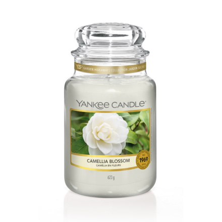 Picture of YANKEE CANDLE - LARGE CAMELLIA BLOSSOM