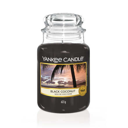 Picture of YANKEE CANDLE - LARGE BLACK COCONUT