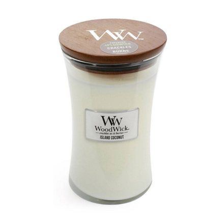 Picture of WOODWICK CANDLE - LARGE ISLAND COCONUT