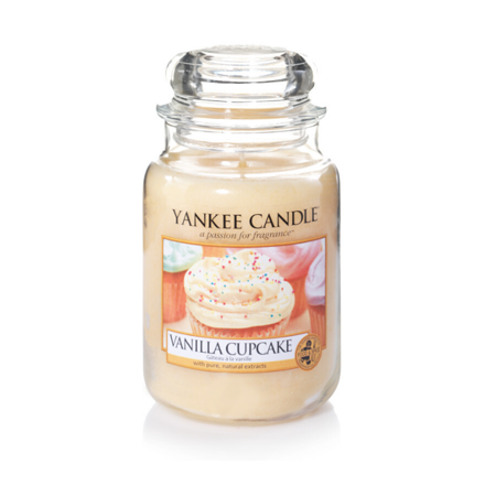 Picture of YANKEE CANDLE - LARGE VANILLA CUPCAKE