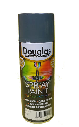 Picture of SPRAY PAINT 400ML GREY (DOUGLAS)