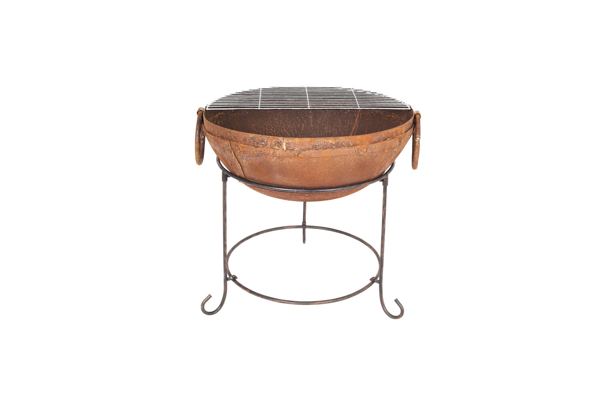 """Picture of FIREPIT - RUSTIC CLAY """"ZANGE INDIAN"""" (H21.5""""x W19.5""""x L19.5"""")"""