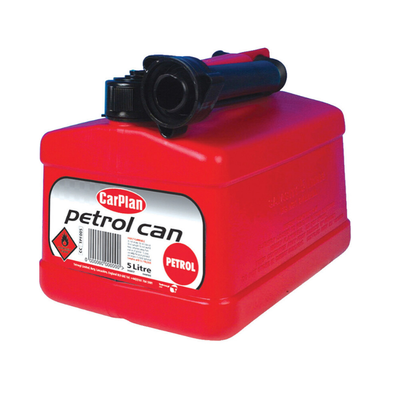 Picture of PETROL CAN - RED 5L (CARPLAN)