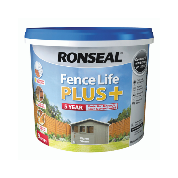 Picture of FENCELIFE PLUS - WARM STONE 9L