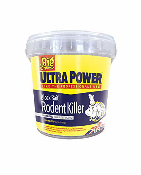 Picture of RODENT KILLER - BAIT BLOCKS (15 X 20G)