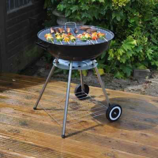 Picture of BBQ KINGFISHER CHARCOAL BBQ