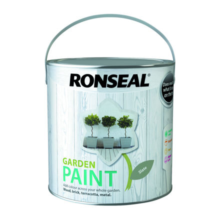 Picture of RONSEAL - GARDEN PAINT SLATE - GP (2.5L)