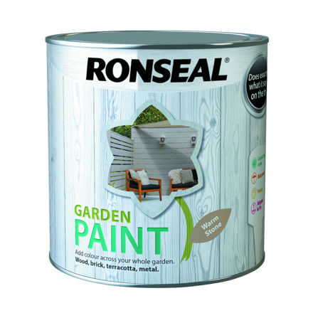 Picture of RONSEAL - GARDEN PAINT WARM STONE - GP (2.5L)