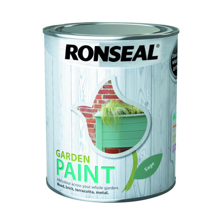 Picture of RONSEAL - GARDEN PAINT SAGE- GP (750ml)