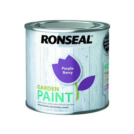 Picture of RONSEAL - GARDEN PAINT PURPLE BERRY - GP (250ml)