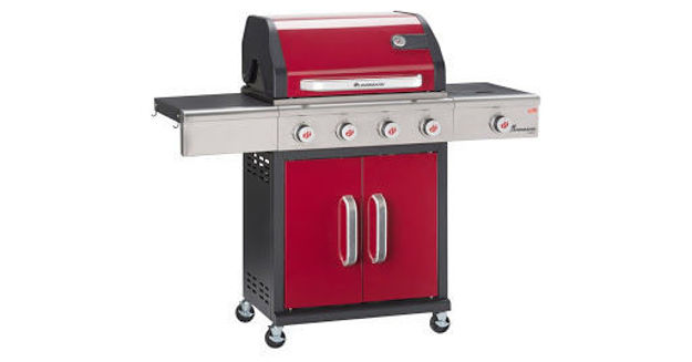 Picture of BBQ - TRITON 4 BURNER RED - GAS