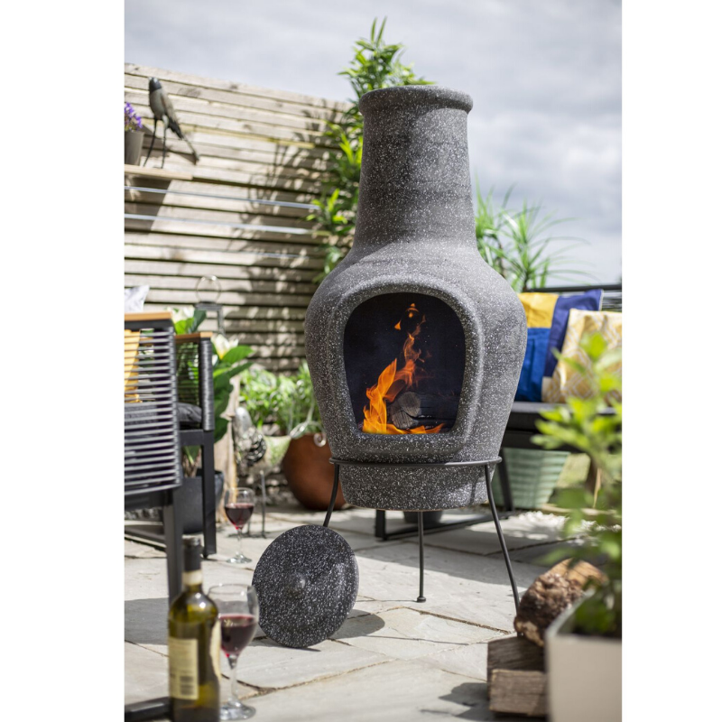 Picture of CHIMINEA TANA DARK GREY LARGE