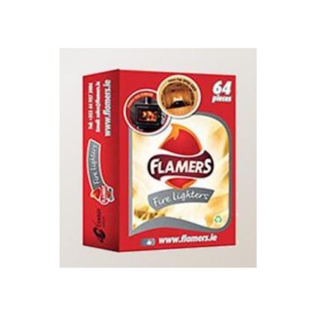 Picture of FLAMERS FIRELIGHTERS 64 PACK
