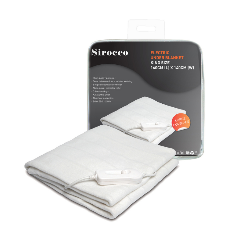Picture of SIROCCO ELECTRIC BLANKET KING SIZE