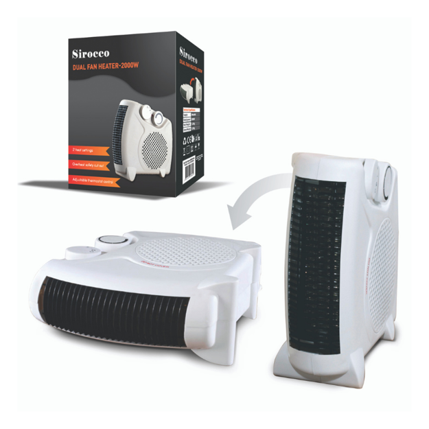 Picture of SIROCCO DUAL FAN HEATER 2KW
