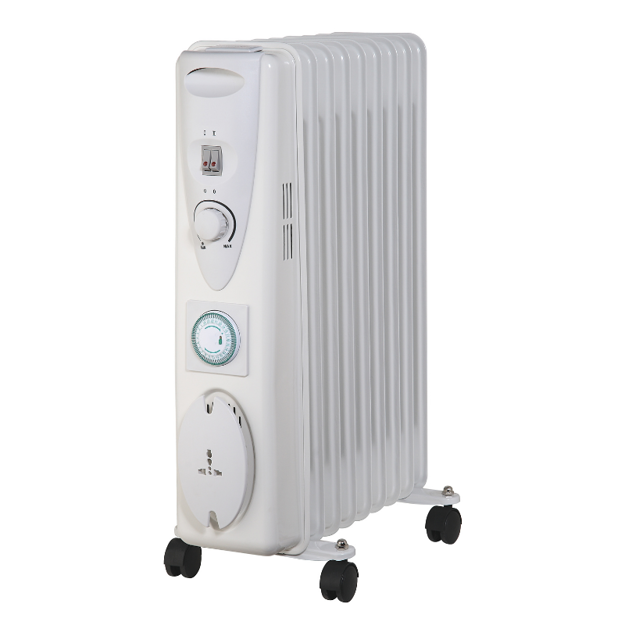 Picture of SIROCCO PREMIUM 9 FIN OIL RADIATOR WITH TIMER-2KW