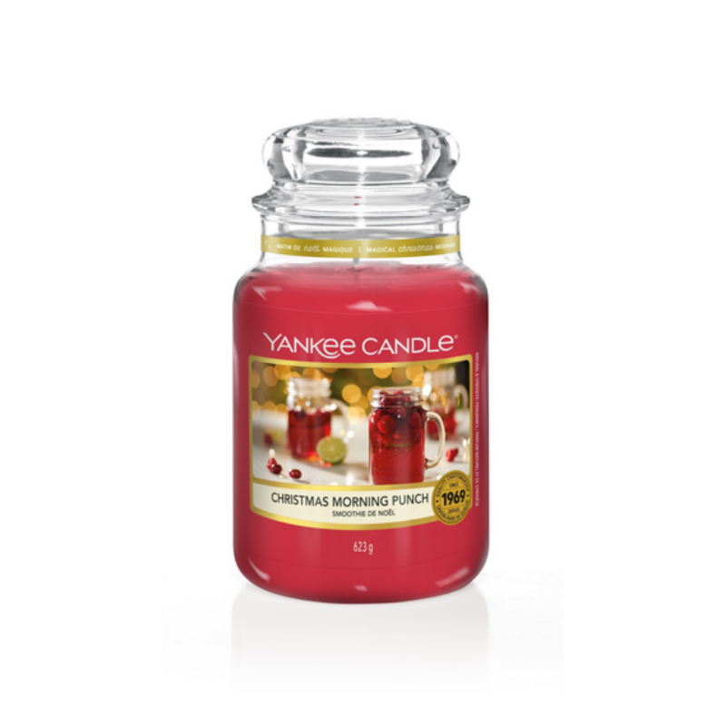 Picture of YANKEE CANDLE - LARGE CHRISTMAS MORNING PUNCH