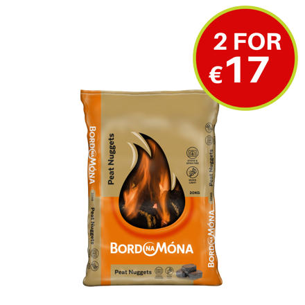 Picture of BORD NA MONA PEAT NUGGETS - 20KG