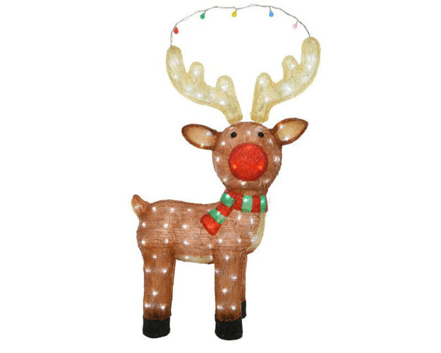 Picture of LED Acrylic Reindeer - 85cm