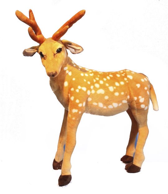Picture of Plush Standing Deer - 75cm