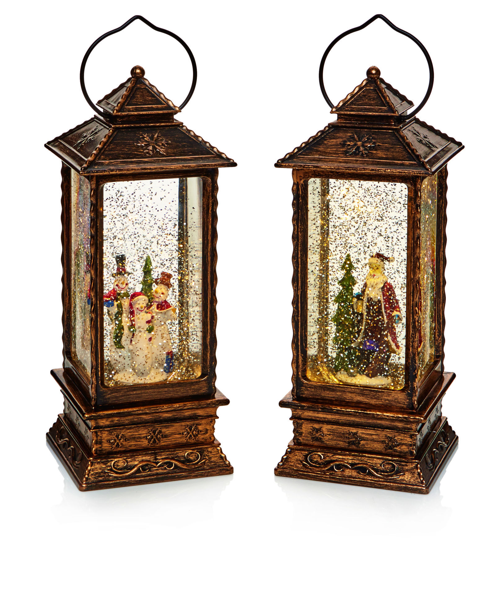 Picture of Premier Decorations N/A LED Water Spinner Lanterns - 27cm