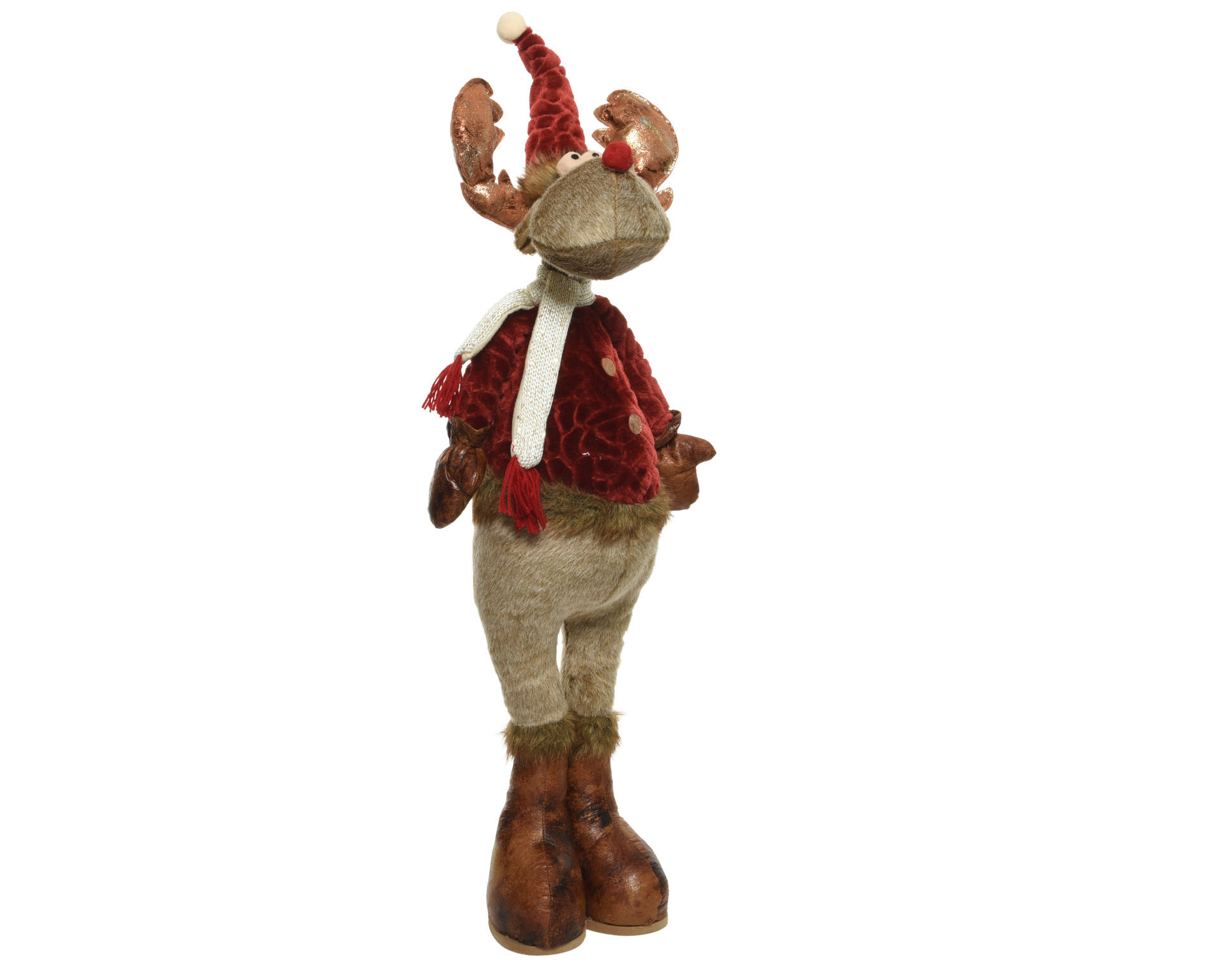 Picture of Plush Standing Reindeer - 156cm