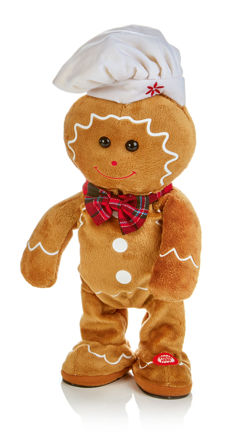 Picture of SINGING GINGERBREAD MAN 35CM