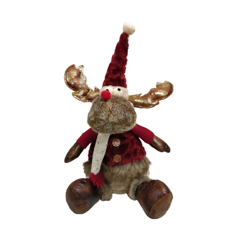 Picture of Plush Sitting Reindeer - 44cm