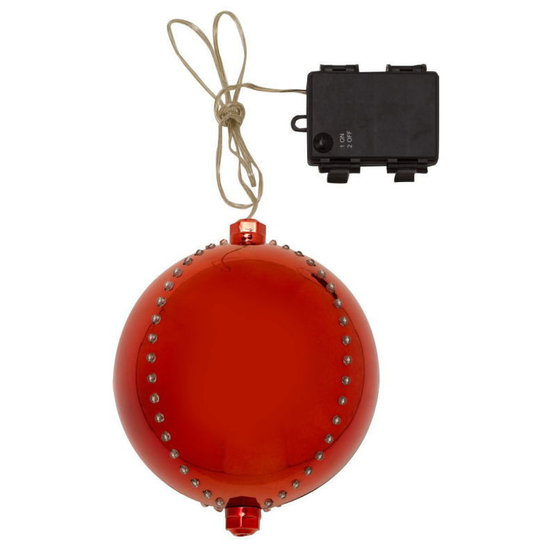 Picture of METEOR SHOWER GIANT BAUBLE 15CM RUBY