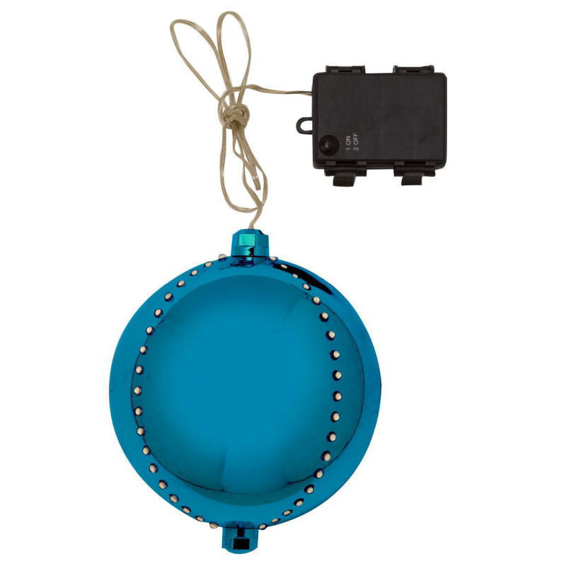 Picture of METEOR SHOWER GIANT BAUBLE 15CM SAPPHIRE