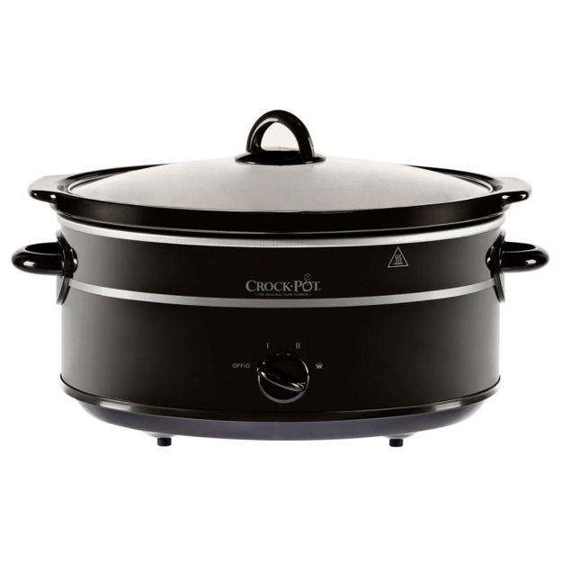 Picture of CROCKPOT 6.5LTR FAMILY SIZE BLACK