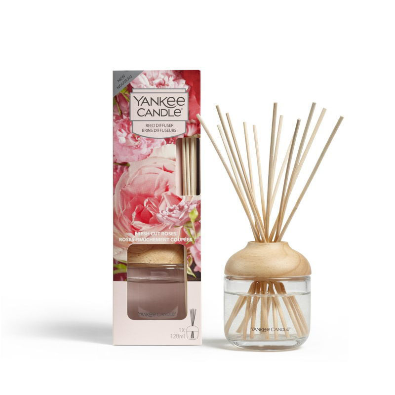 Picture of YANKEE CANDLE REED DIFFUSER  - FRESH CUT ROSES