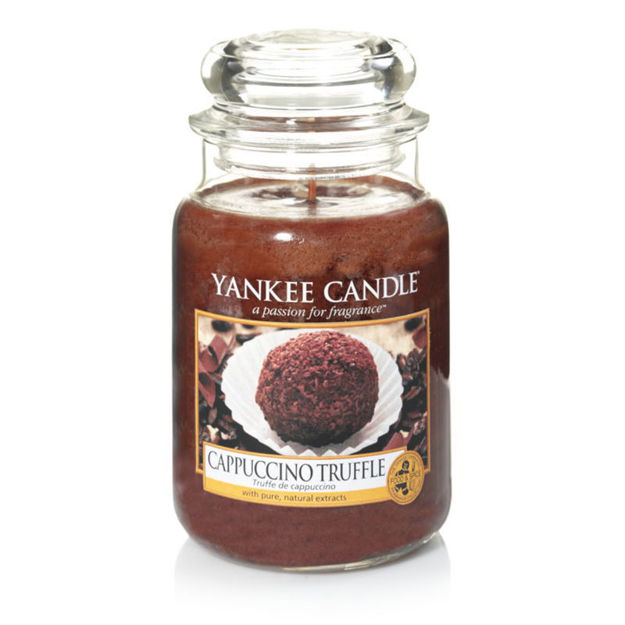 Picture of YANKEE CANDLE - LARGE CAPPUCCINO TRUFFLE